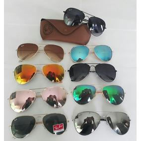 Óculos Atacado Revenda Aviador Kit Com 10 Com Case · R  250 0a38235ac3