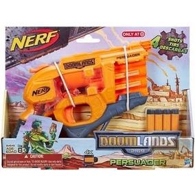 Pistola Nerf Niños Doomlands Persuader Juguete Colimporacion