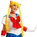 El Niño De Las Muchachas De Sailor Moon Embroma La Peluca R
