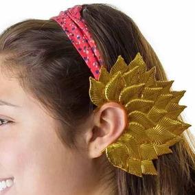 Ear Cuff Broche Metalico Tipo Elfo Color Dorado M1065