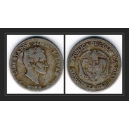 Moneda 50 Centavos - Colombia - 1958