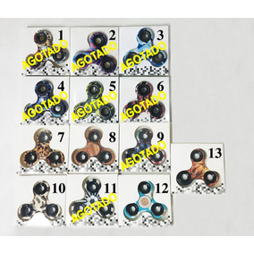 Spinners Impresos Xunidad Fidget Antiestres