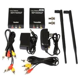 Transmissor Sainsonic 2.4ghz Áudio Vídeo Wirelles 1000 Metro