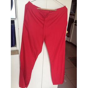 Pantalon Uniforme Mono Quirúrgico Talla S Color Rojo