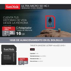 Memoria Ultra Micro Sd Sandisk 16gb C/adaptador