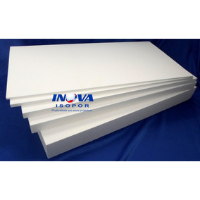 4 Placas De Isopor P3 100x50x5cm + 4 Depron 5mm
