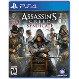 Juego Ps4 Sony Assassins Creed Syndicate ( Físico)