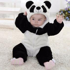 Macacão Bebê Fantasia (bichinho Panda)