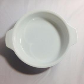 30 Travessa Porcelana Redonda Com Aba 18 Cm Gourmet Ref 435x
