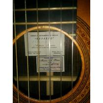Vendo Guitarra Clasica De Concierto A. Navarro (palo Santo)
