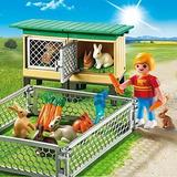 Playmobil 6140 Criadero De Conejos - Giro Didactico