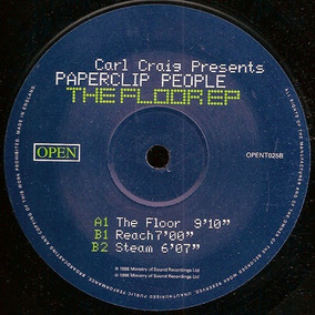 Carl Craig Presents Paperclip People The Floor Ep