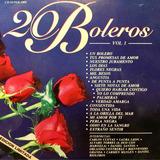 Cd 20 Boleros Vol 1 Carlos Cuevas Daniel Santos C Maylen