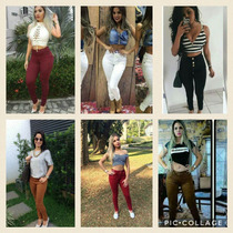 Calças Jeans Coloridas No Atacado 6 Peças Por R$ 300,00