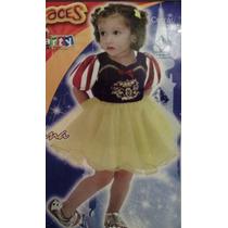 Disfraz Princesa Niña Blanca Nieves Bailarina