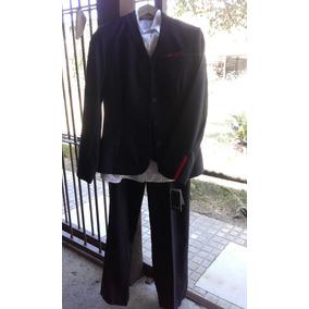 Traje Nuevo Para Dama Pantalon, Blusa, Chaleco Y Blazer