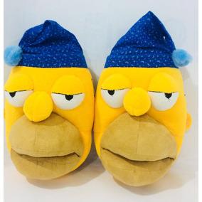 Pantunflas Originales Homero Simpson 2011 Sin Uso 119yp