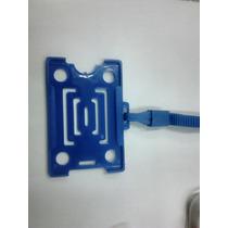 Protetor Porta Crachá Rigido Com Cordão Pacote C/10 Unidades