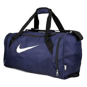 Nike Bolso Brasilia 6 Medium Dufell Azul Ba4829-001