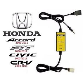 Adaptador Interface Usb Honda Civic City Arccord Crv Cr-v