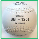 Pelotas Softball Tamanaco Sb-120i Cork Center Bolsa Chillona