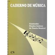 Caderno De Música 12 Pautas - Cn-016