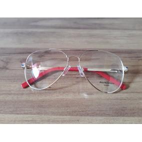 Armaçao Para Grau Ana Hickman Duo (pernas Que Viram) - Óculos no ... 35313ab705