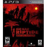 Dead Island Riptide Special Edition Ps3 Nuevo Y Sellado