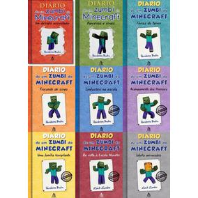 Coleção Diário De Um Zumbi Exceto Livro 5 Frete Grátis