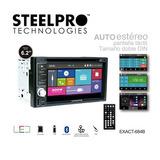 Auto Estereo Steel Pro Pantalla 6.2 Touch Bluetooth