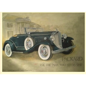 Quadro - Osm - Packard Coupe 1934 - 110 X 160