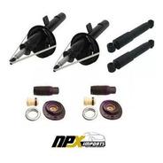 Jogo 4 Amortecedores + Kit Completo  Peugeot 206 207
