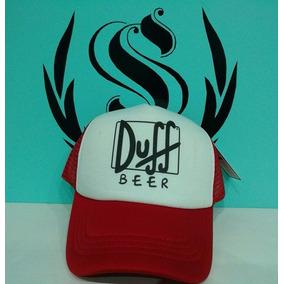 Gorra De Duff Beer! De Los Simpson! La Mejor De Todas!