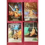 Postal Star Wars Vintage Original 1980 Lote X 4