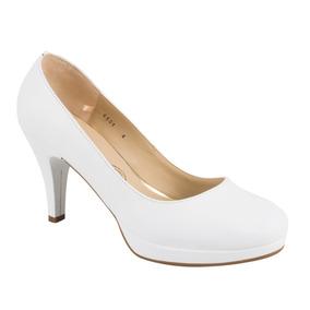 Zapato Vestir Vicenza 6501 Blanco Dama