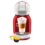 Cafetera Mini Me Nescafe Rojo Blanco