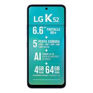 LG K52 (48 Mpx) 64 Gb Blue 4 Gb Ram Cuotas