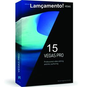 Sony Vegas Pro 15 / Português + Cenários Editáveis