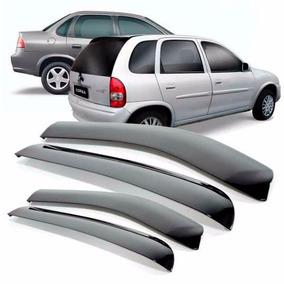 Calha De Chuva Corsa Hatch Sedan Wagon 4 Portas - Acrílica