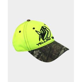 Gorra Verde Neon/camo Yellow Tail + Envío Gratis
