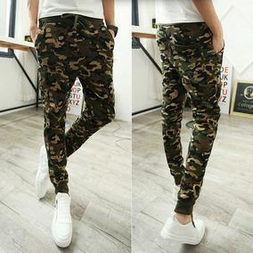 Jogger Pantalon Sudadera Camuflado Para Hombres