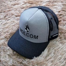 Boné Volcom Full Stone Snapback Preto - Bonés para Masculino no ... fe054d75c90
