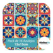 Vinilos Decorativos Azulejos Adhesivos Mexicanos Vintage