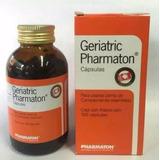 Geriatric Pharmaton Contra El Cansancio Fisico Y Mental
