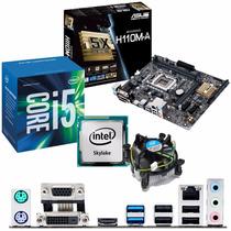 Kit Placa Asus H110m-a Ddr4 + Processador Intel Core I5-6600