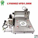 Máquina Cnc 6090 3 Ejes Cnc Router Madera, 1500 W 110 V/220