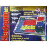 Electronic Kit Hacé Circuitos Electrónicos 45 En 1 Jretro70