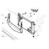Radiador Agua Fiat Palio Siena Strada Idea Original®