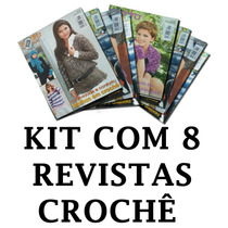 Kit Lote Com 8 Revista Crochê