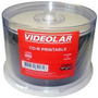 50 Cd-r Printable 1x-52x 700mb Videolar No Tubo Lacrado!